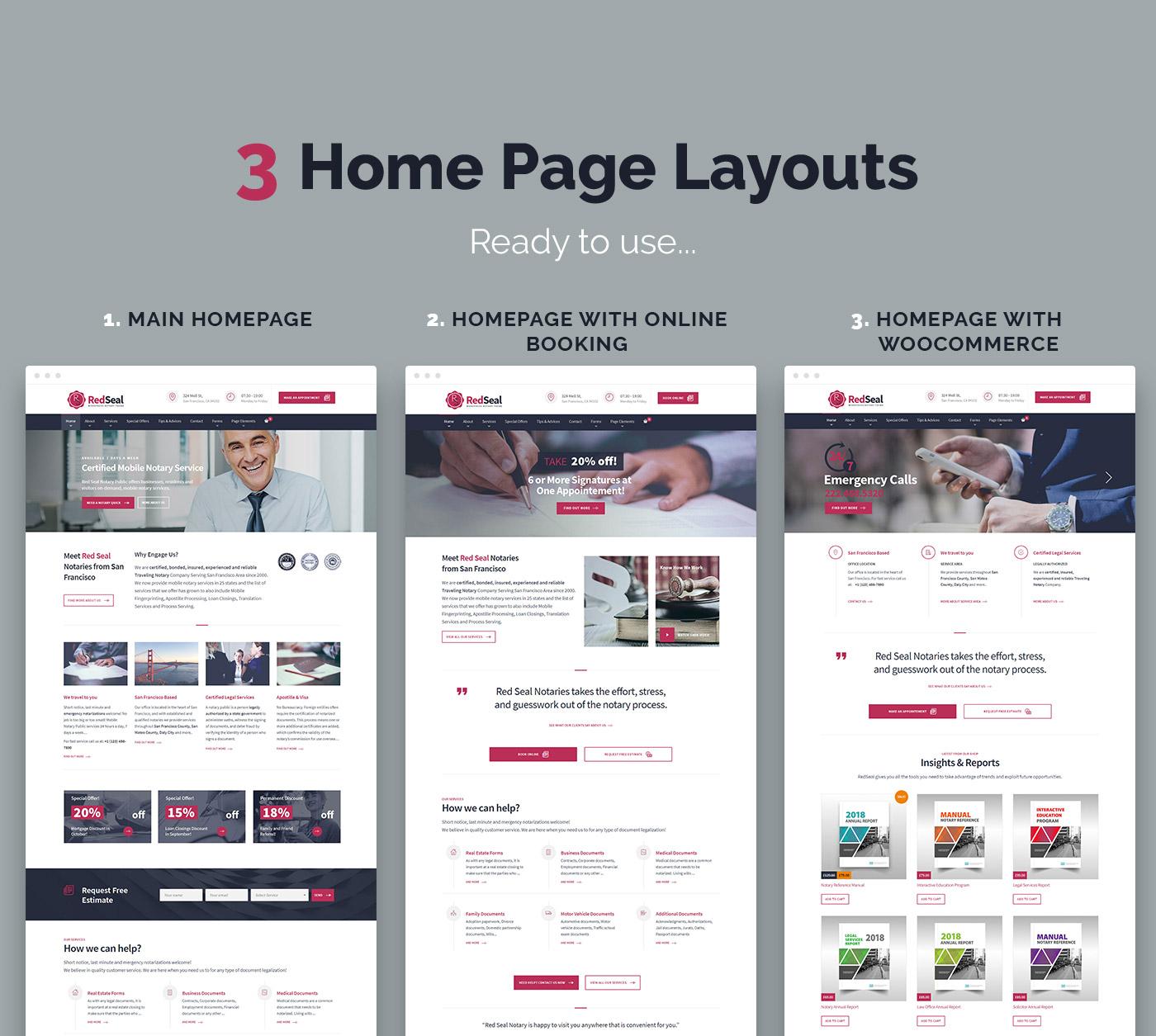 RedSeal HomePages
